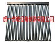 超导真空热管太阳能热水工程